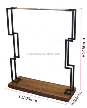Garment Shop Furniture Stands T-Shirt Display Racks