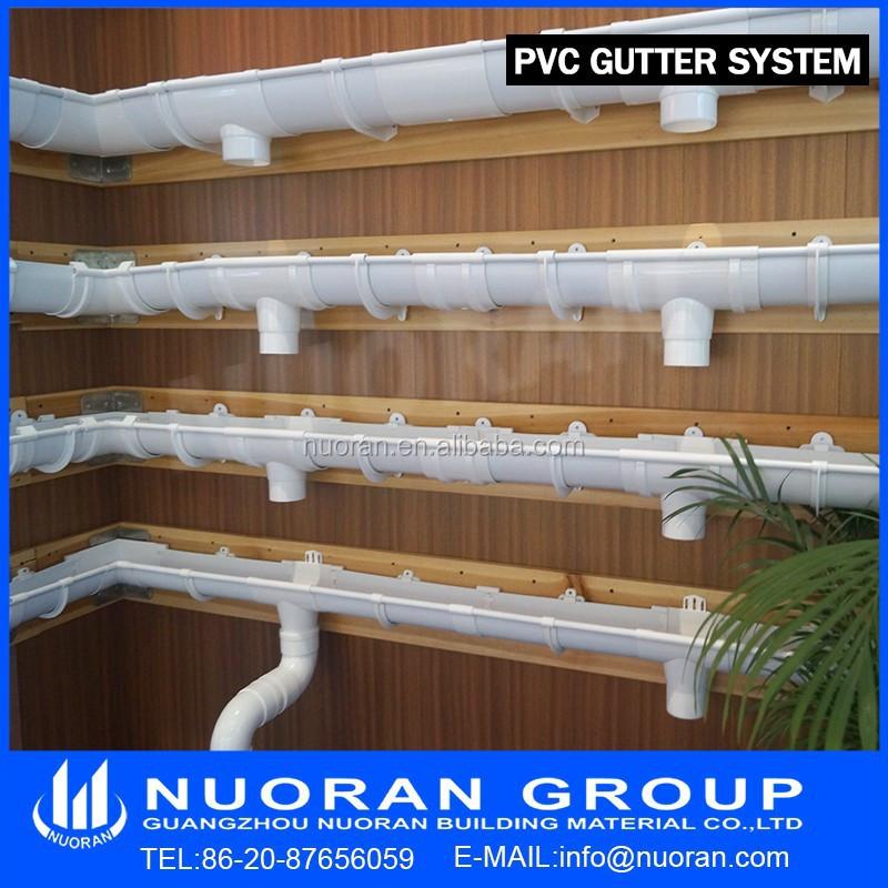 2015 New Hot Sale Pvc Collect Water Rain Gutter