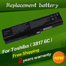 Laptop Replacement Battery For TOSHIBA Satellite L645 L655 L700 L730 L735 L740 L745 L750 L755 PA3817 PA3817U PA3817U-1BRS 3817