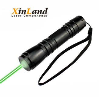Long distance 532nm 50mw electric light laser pointer green