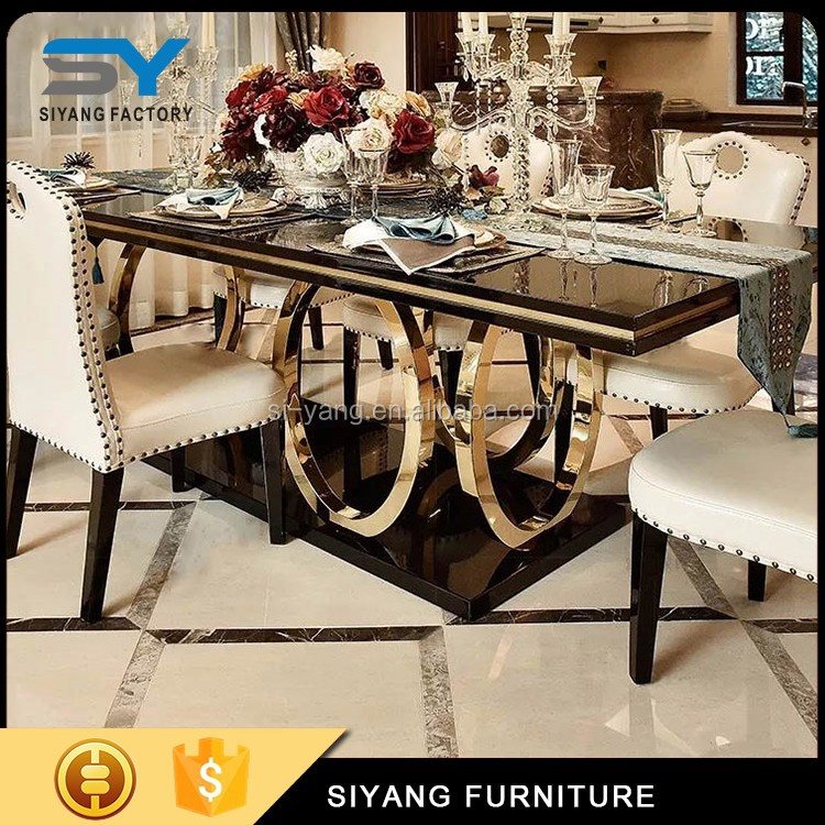 Marble Dining Table And Chair Sets Designs Wholesale Furniture China Ct008 Buy Wholesale Furniture China Nail Table Cheap Restaurant Tables Chairs Product On Alibaba Com