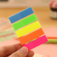 3PCS Colorful Post It Fluorescent Sticker Bookmark Marker Memo Flags Index Sticky Note Stationery Novelty