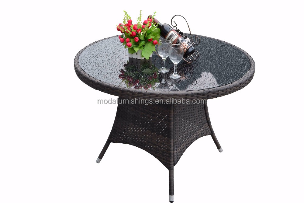 2019 Durable  Rattan Table Dining Set Outdoor Restaurant