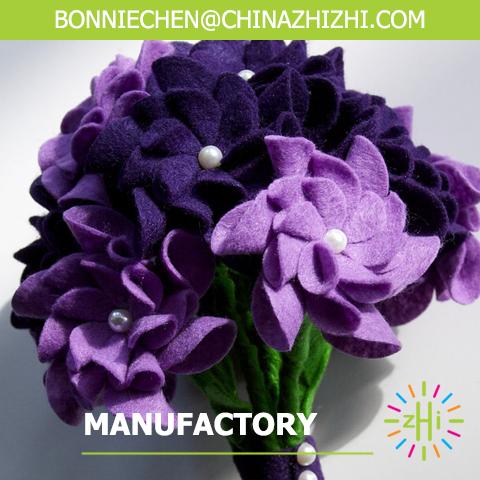 hot sale purple flower bouquet holder