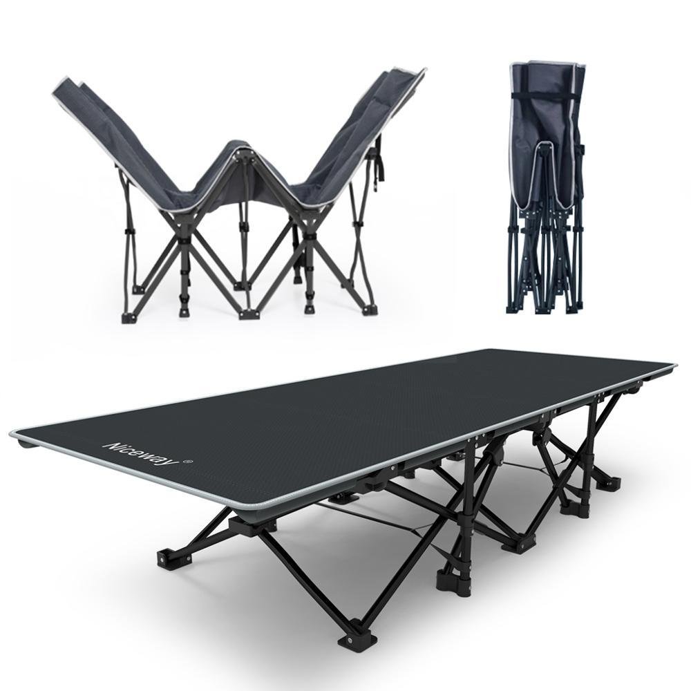 cheap metal folding camping cot for camping picnic and leisure