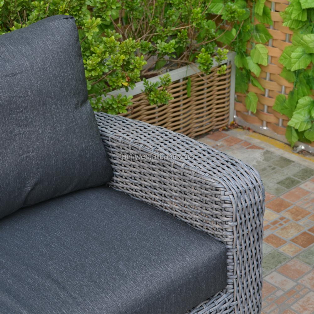 Современный стиль, садовая мебель для любой погоды, наборы мебели из ротанга, садовый модный диван