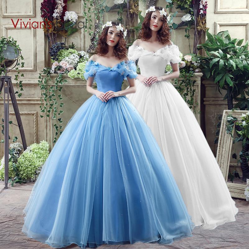 Vivian's Bridal New Movie Deluxe Adult Cinderella Wedding