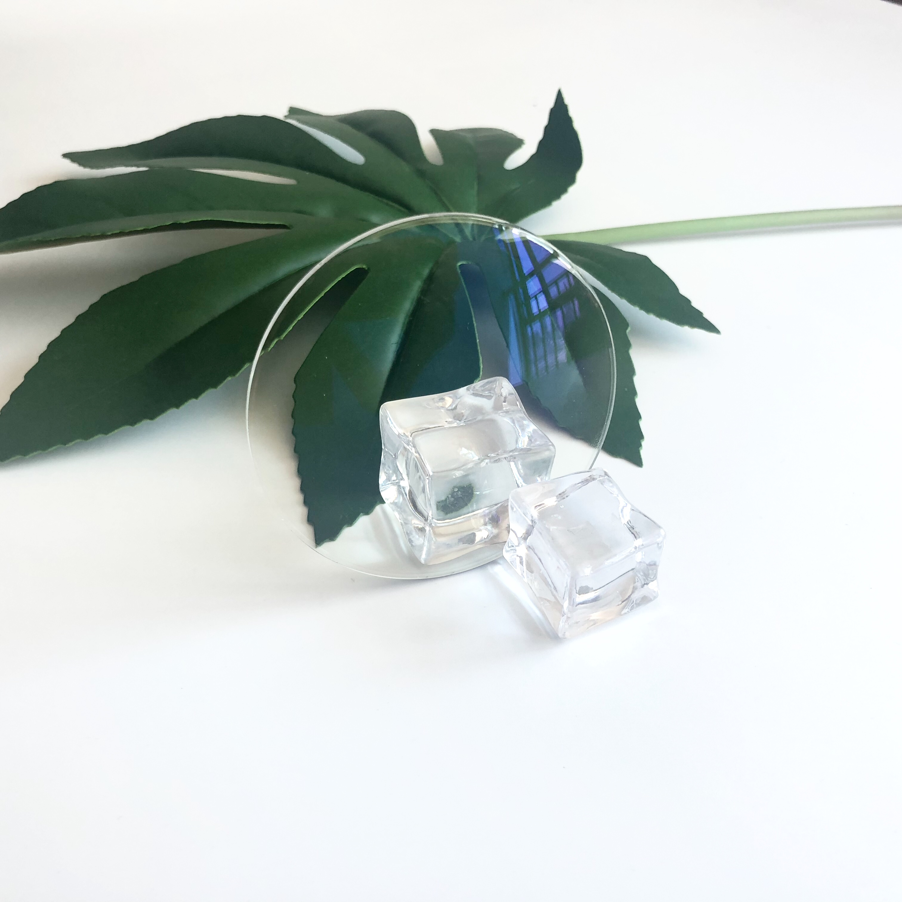 Wholesale danyang lentes 1.56 blue block single vision resin optical lens