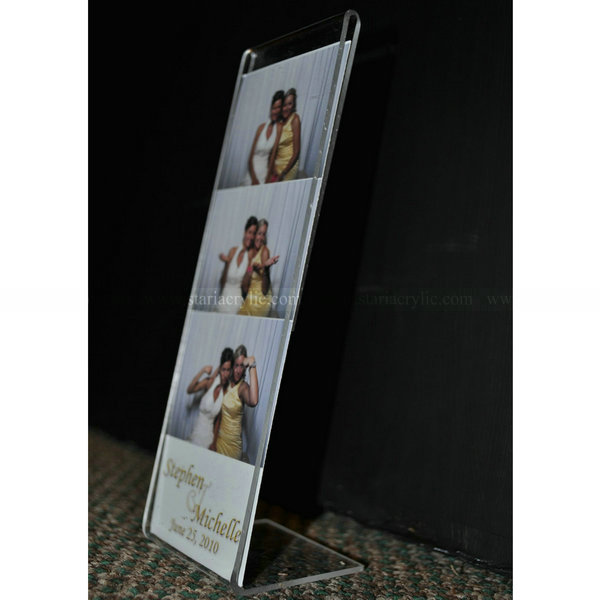 Slanted Acrylic Frame For Photobooth Strip As A Wedding Guest Favor Foor Standing Acrylic Sign Holder Buy Acrylic Photobooth Frames Acrylic Frame For Photobooth Strip Foor Standing Acrylic Sign Holder Product On Alibaba Com
