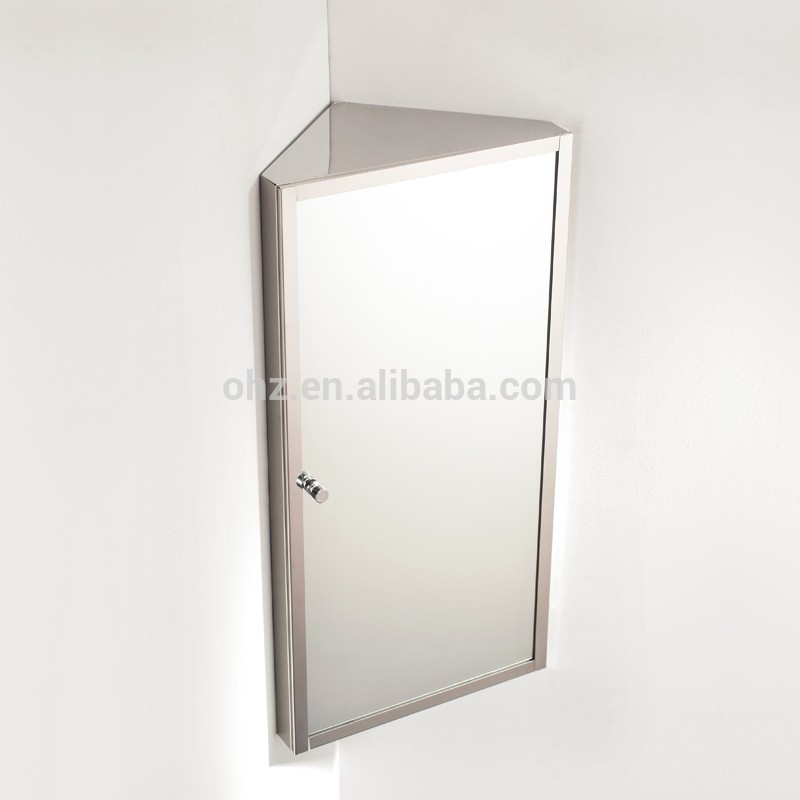 Wall Hanging Stainless Steel Small Corner Mirror Cabinet Bathroom Corner Cabinet 7041 Buy Bathroom Cabinet Corner Mirror Cabinet Wall Hanging Bathroom Cabinet Product On Alibaba Com