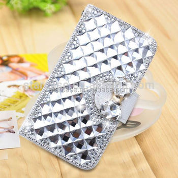 For Samsung Galaxy S4 zoom Sm C1010 Case Cover Wholesale Bling Diamond Leather Case For Samsung Galaxy S4 zoom Sm C1010
