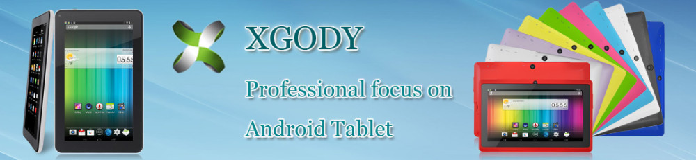 Wholesale-XGODY 9 Inch Android 4 4 Tablet PC Allwinner A33 Quad Core T93Q  16GB Dual Cam WIFI Bluetooth UK Stock