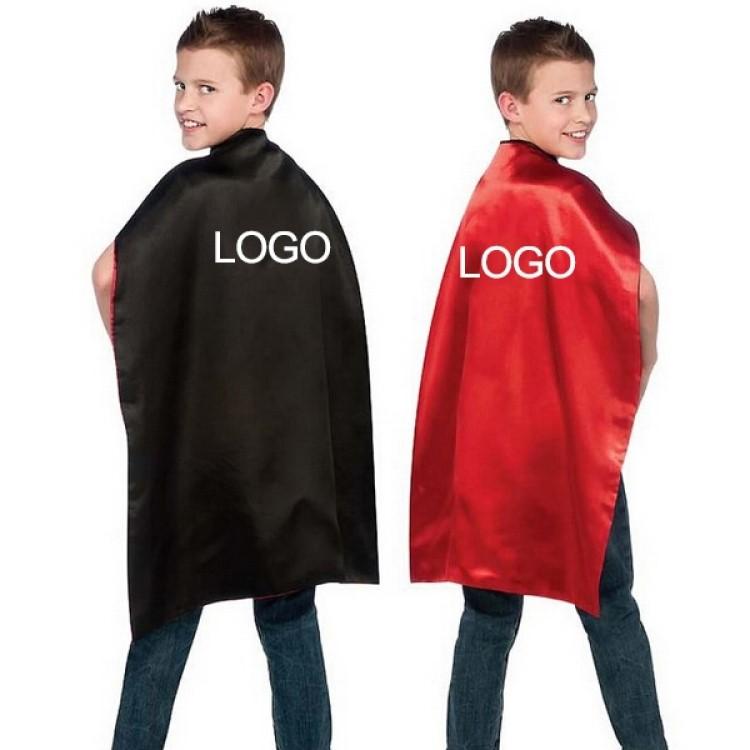 2021 Popular Custom Girls Superhero Red Cape For Sale