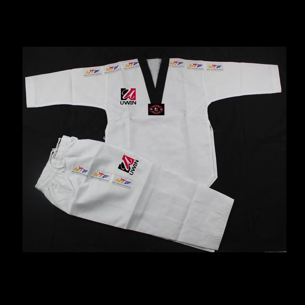 Горячая Распродажа WTF индивидуальная униформа из полиэстера для тхэквондо
