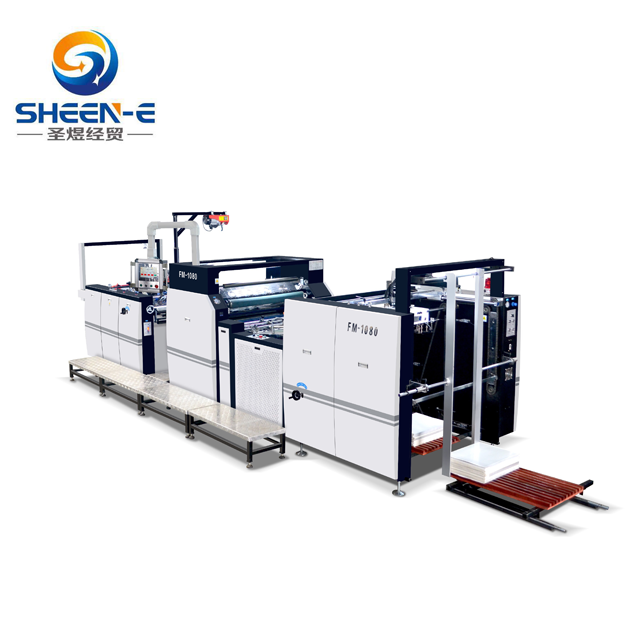 SYFM-1080 Automatic Thermal Laminating Machine With Hydraulic System