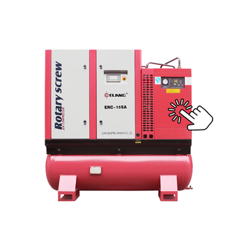 15HP 11KW 8bar 60cfm Integrated Combined Screw Air Compressor with Air Tank and Air Dryer