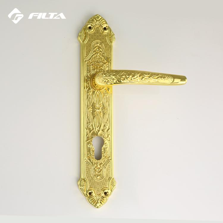 Luxury GP door hardware general usage zinc door locks handle