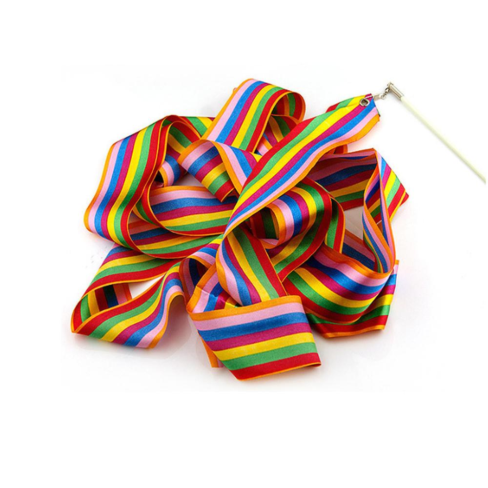 Gymnastic Ribbon for Kids, Baton Twirling, Dancing Streamers