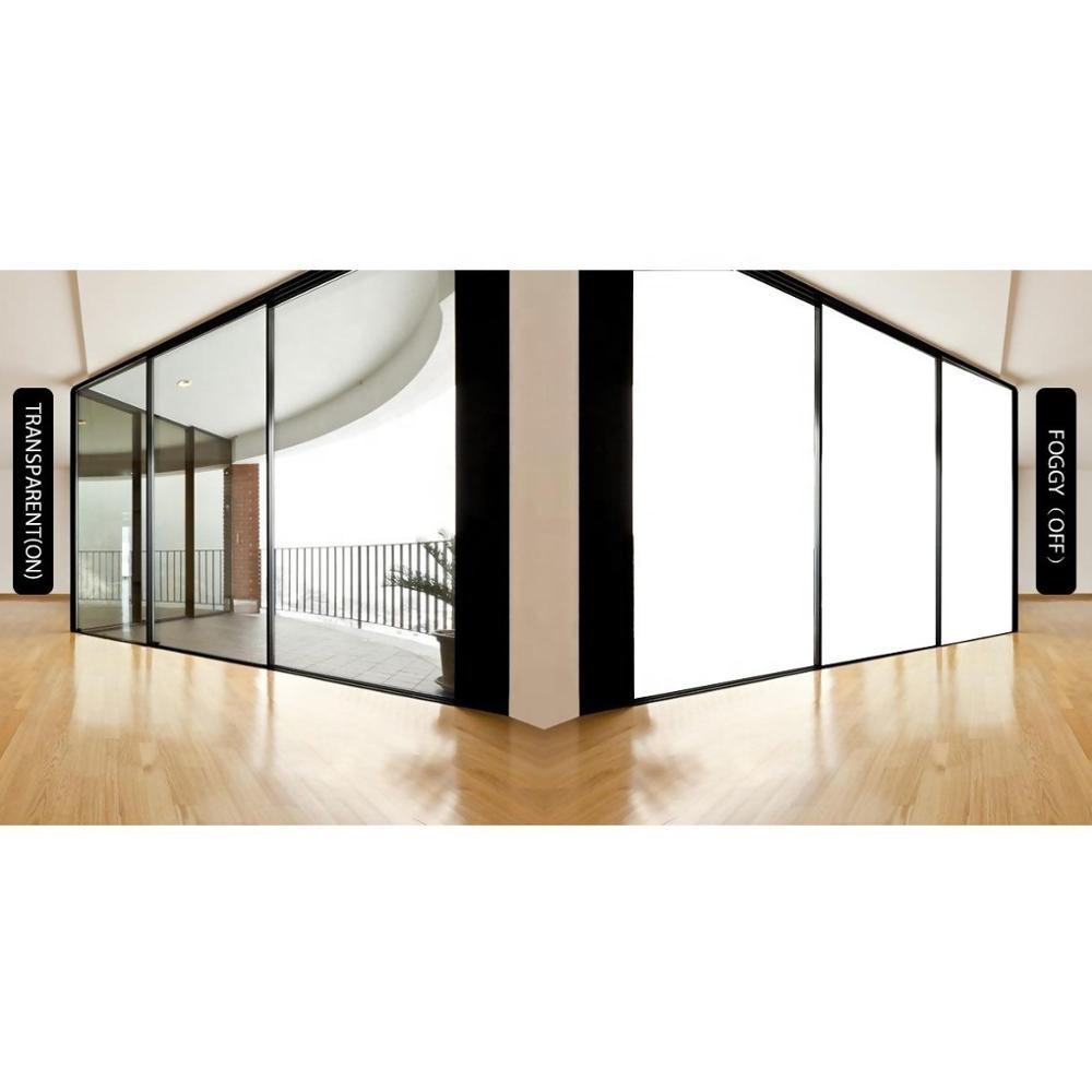 Switchable glass pdlc smart self adhesive film privacy glass at low price