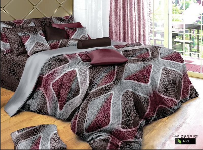 Full Queen 100%cotton Fitted Sheet/modern Bedding/3d Snake