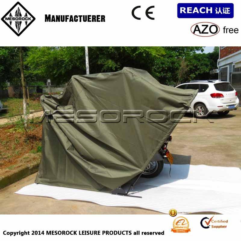 Motorcycle Bike Folding Cover Storage Shed Waterproof