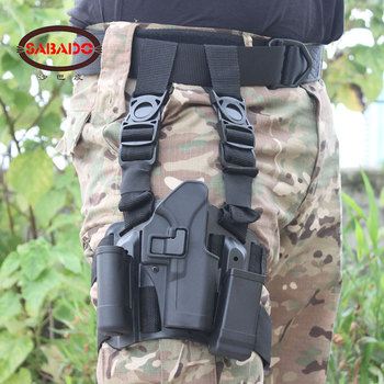 600D Tactical drop Leg firm holsters,hunting pistol holster M92