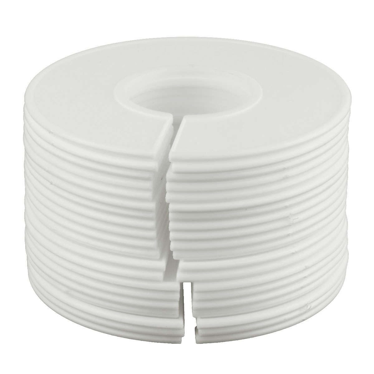Arts,crafts & Sewing 5 Blank Round Rack Plastic Clothing Dividers Fits Ring Size Round Or Square Tube Garment Tags Size Marking Ring