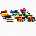 In Stock Magnetic electric locomotive is suitable for the wooden Thomas Brio and plastic track toys