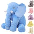 65 cm Large Kids Plush Elephant Toy Kids Sleeping Back Cushion Elephant Doll PP Cotton Lining
