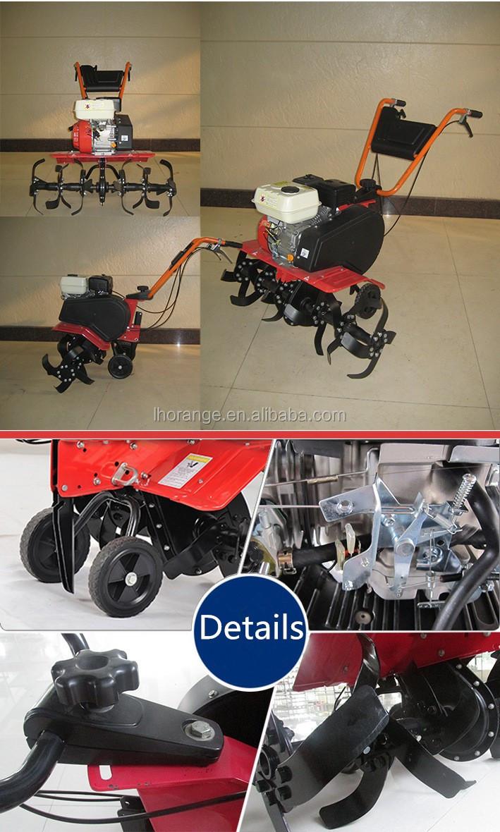 Gasoline tiller / Cultivator tiller machine