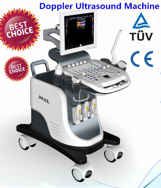 Профессиональное медицинское ультразвуковое оборудование CE и ISO утвержденных ручной ультразвуковой доплерографии машина (MSLCU24-R)