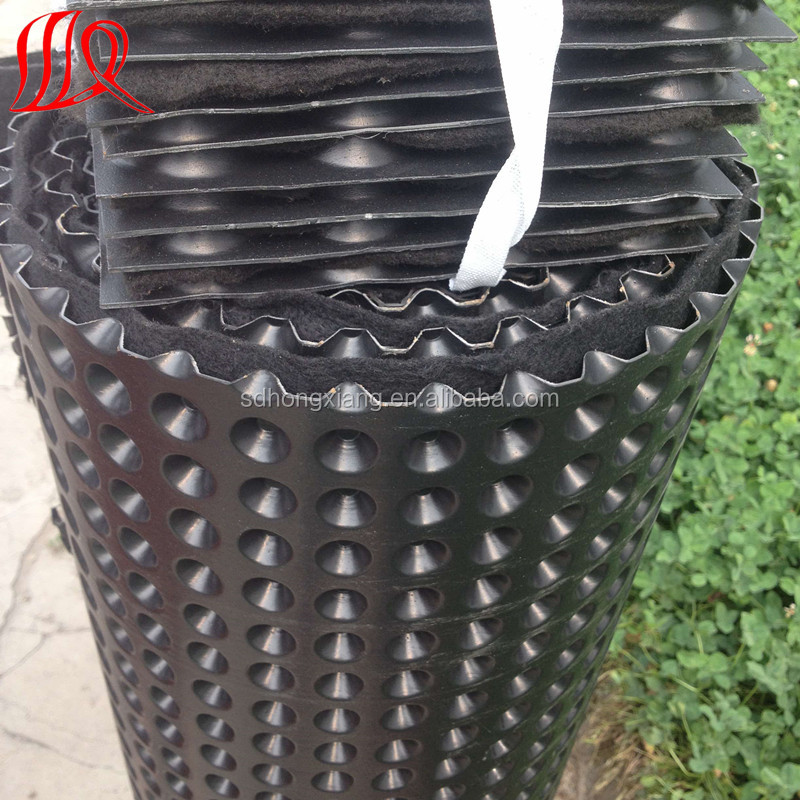 HDPE waterproof membrane with dimple