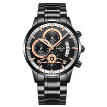 Новинка 2020, распродажа, NIBOSI, модные часы для мужчин, лучший бренд класса люкс, нержавеющая сталь, аналоговые кварцевые наручные часы, бизнес ...(Китай)