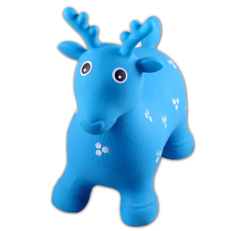 Детские надувные игрушки, детские животные для верховой езды, ПВХ надувное прыгающее животное