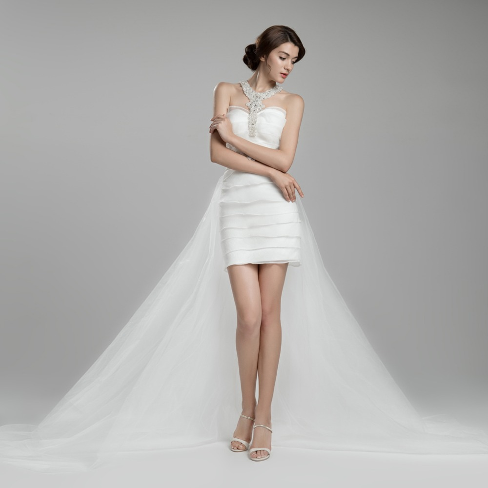Beaded Wedding Dress With Detachable Train: Aliexpress.com : Buy Hot Selling Detachable Train Beaded
