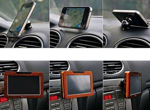 support voiture magnetique aimant rotation 360 pour telephone portable tablette. Black Bedroom Furniture Sets. Home Design Ideas