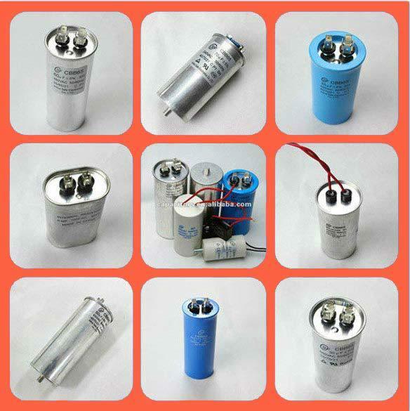 Cbb65 Best Selling Ac Dual Power P2 Capacitors Mab Mkp