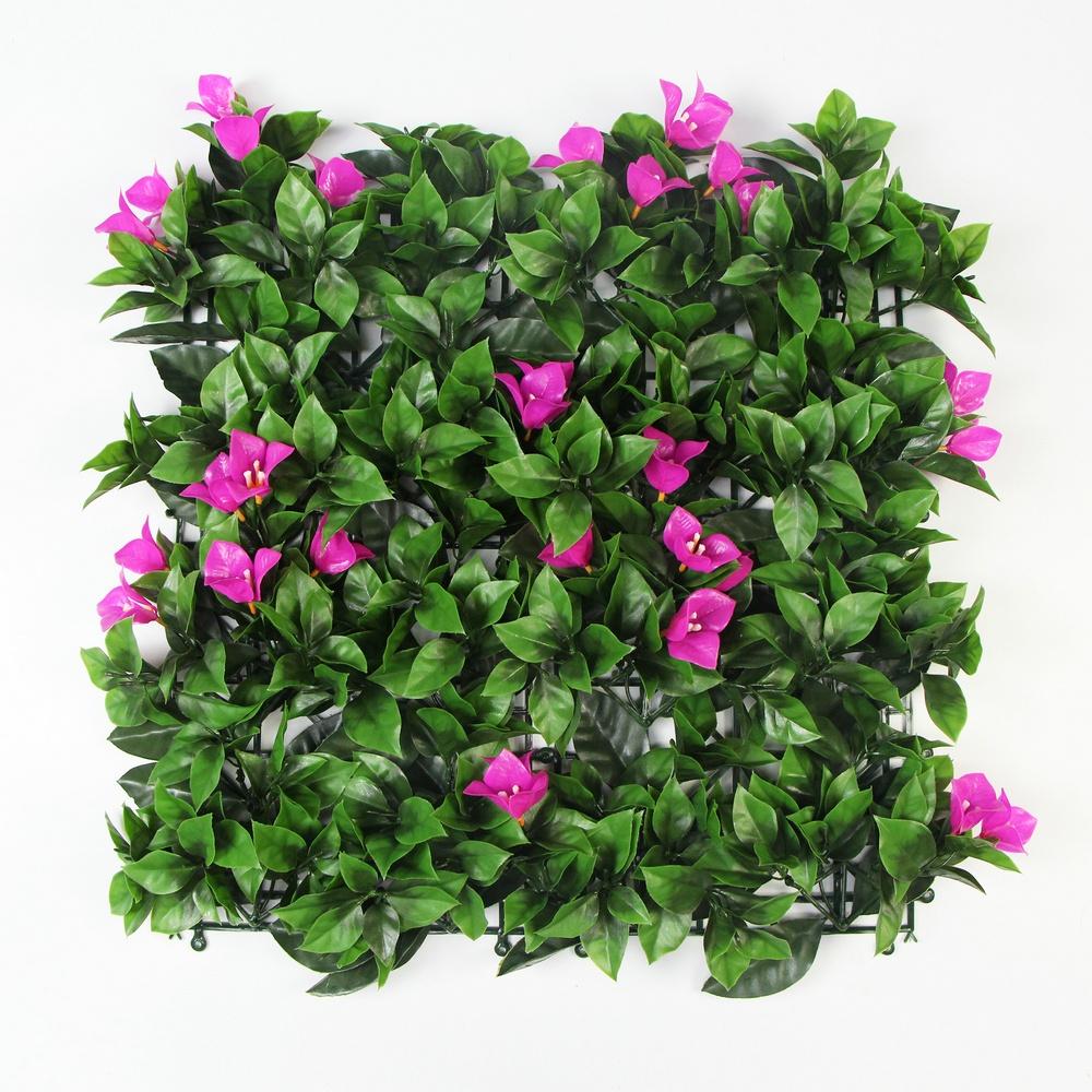 50x50cm wedding flower backdrop eco-friendy plastic artificial hedge mat panels