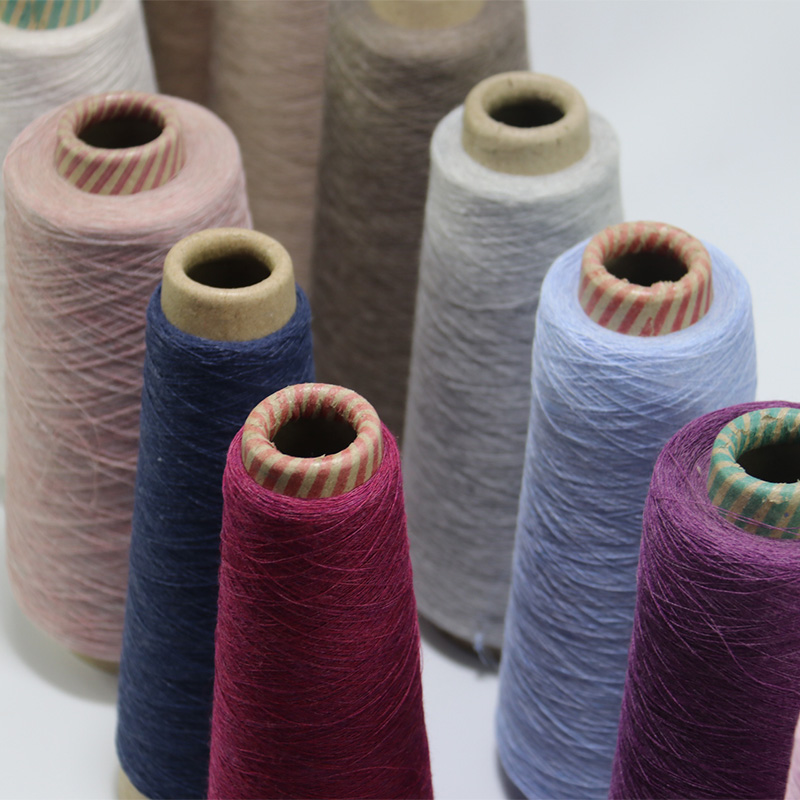 Dyed color polyester cotton blended yarn