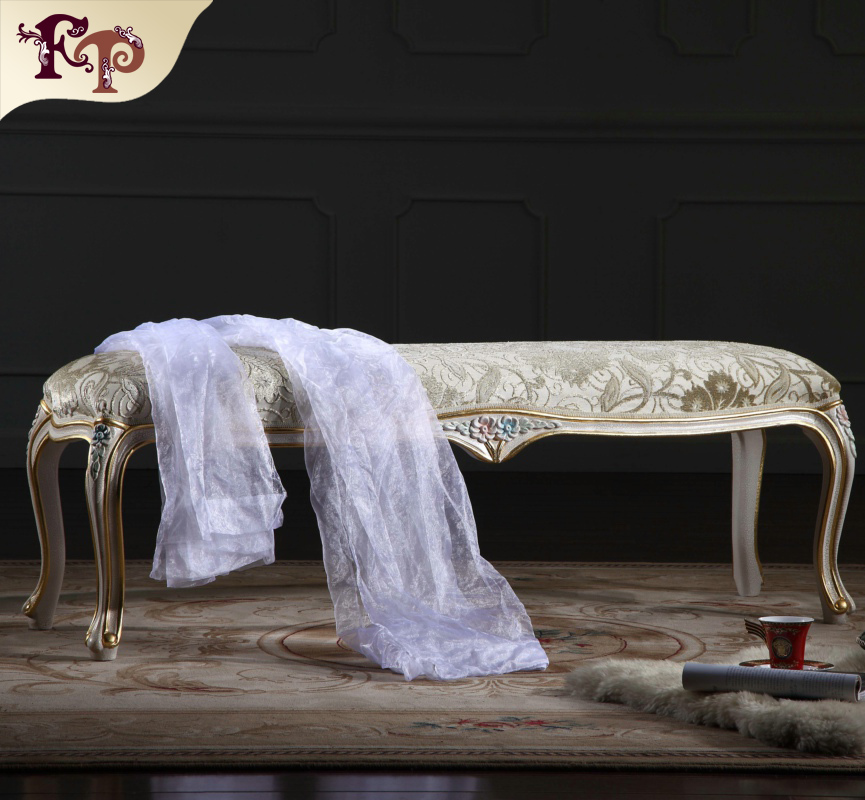 Europe French Style Mirrored Bedroom Furniture Baroque Hand Craft Antique Bed End Bench Buy French Style White Bedroom Furniture Bed End Furniture Wood Bench Colonial Style Bedroom Furniture Product On Alibaba Com
