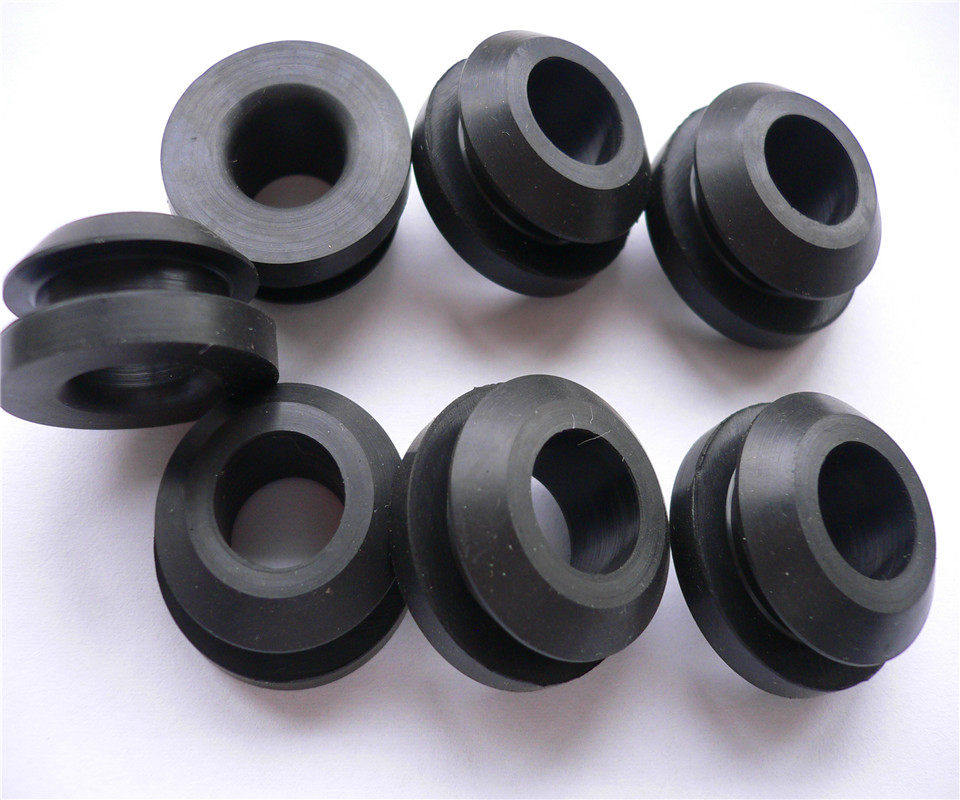 ULTECHNOVO 180pcs arandelas de goma anillo de retenci/ón agujero ciego cable de cableado kits de juntas arandela de sellado
