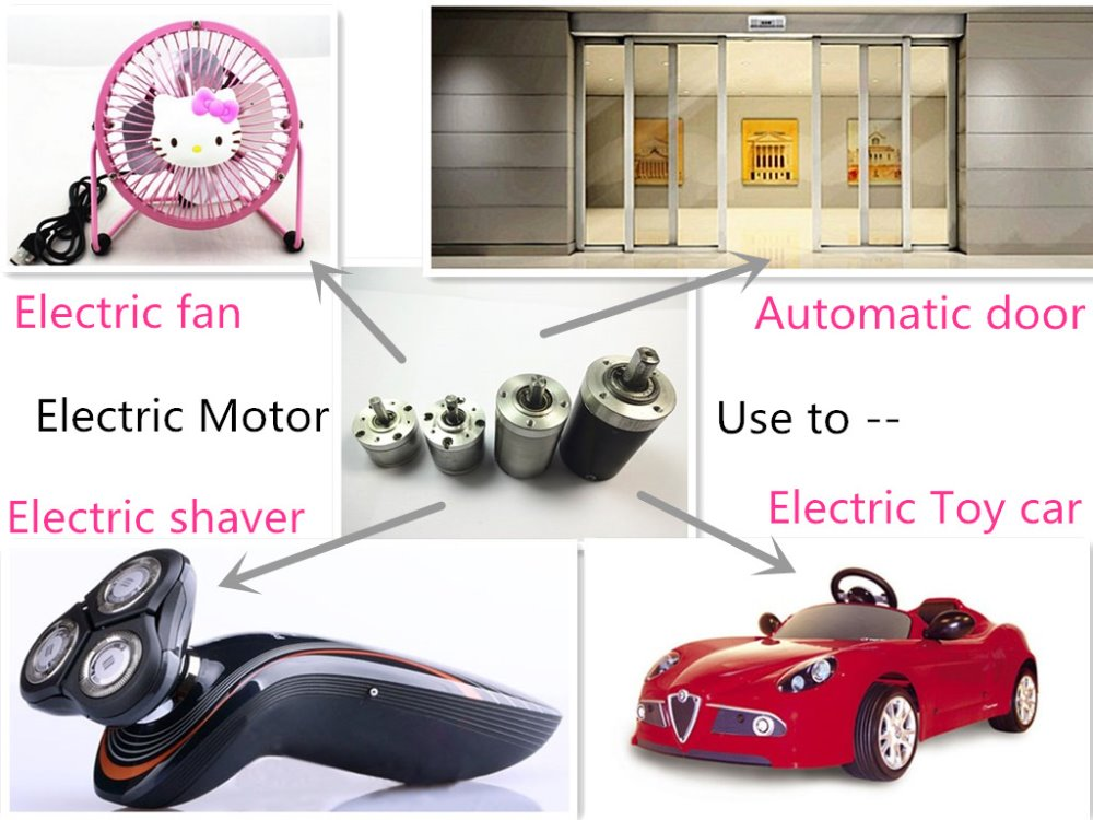 Toy car DC Motor, Customized All Kinds of Electric Motors