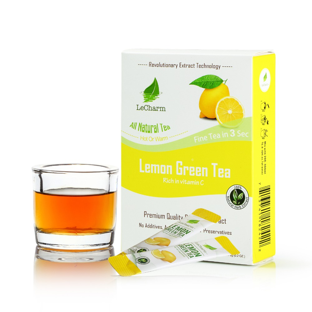 Wholesale Lemon Iced Green Tea Powder Tea Extract Crystal - 4uTea   4uTea.com