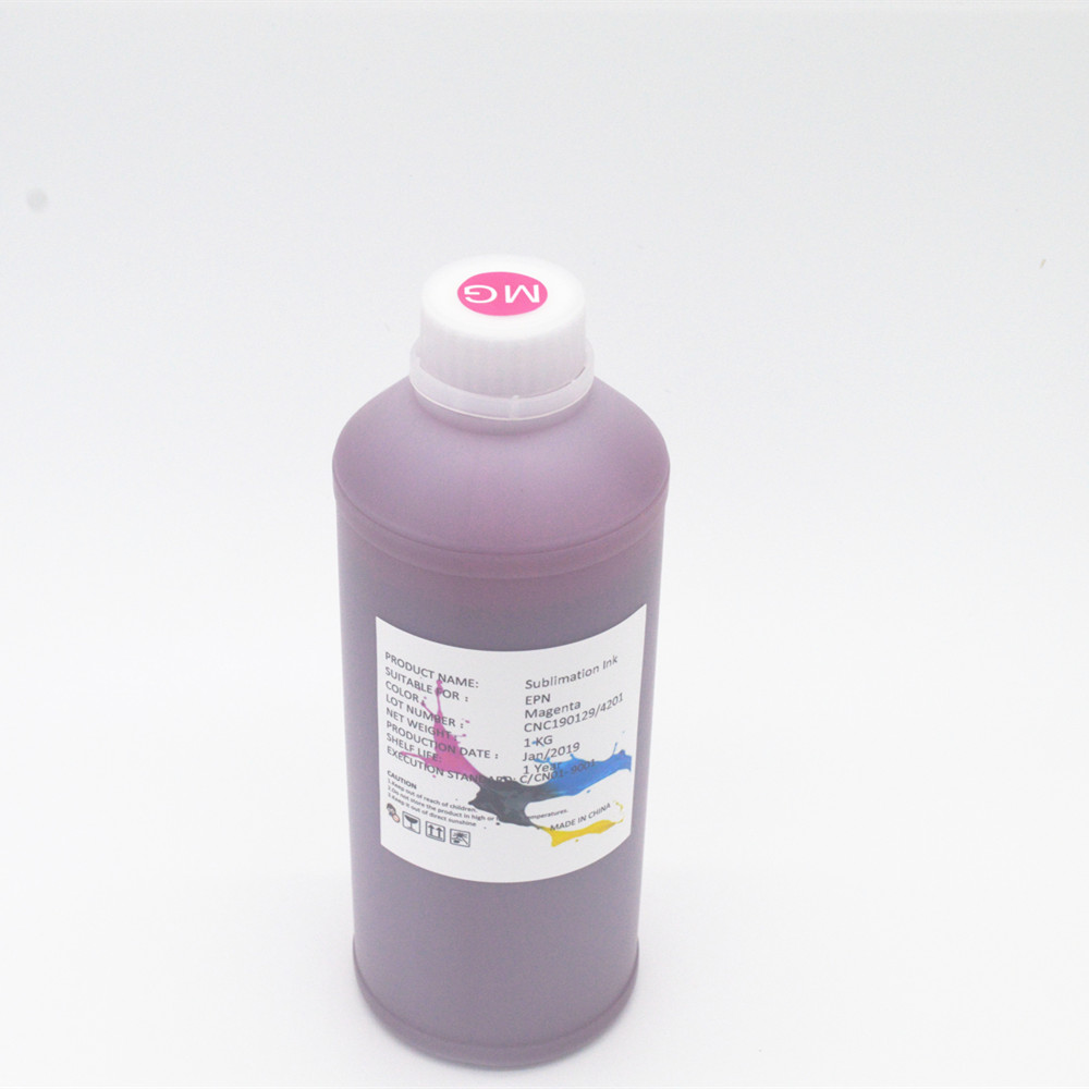 textile sublimation ink for Epson DX5,DX7,5113,4720 print head heat transfer ink