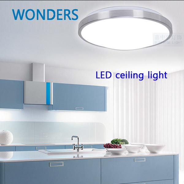 Led Lights Kitchen Ceiling: SMD5730 Minimalism Aluminum LED Ceiling Light For Indoor