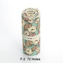 Чехол для карандашей с отверстиями, рулон холста, сумка для макияжа, большая школьная коробка для хранения, школьные принадлежности, чехлы д...(Китай)