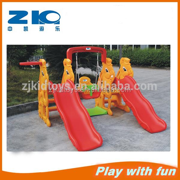 Детская двойная горка с качели высокого качества, пластиковый слон, двойная горка с качели для детей, распродажа