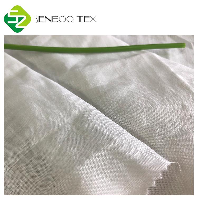Много цветов мягкий 150GSM сплошной цвет 100% чистый Лен ткань для одежды/домашний текстиль на продажу