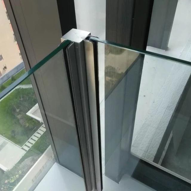 Современные стеклянные перила для балкона, U-образные перила для балкона, конструкция перил из нержавеющей стали, перила, перила