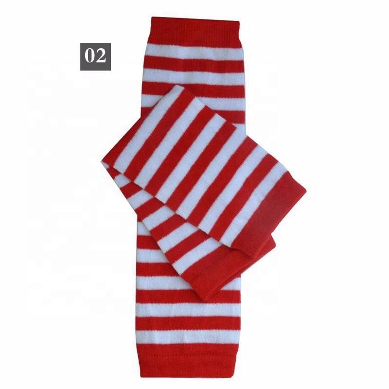 Striped Rainbow baby Leg Warmers Legwarmers 12inch Christmas Thanksgiving Day children socks Leggings